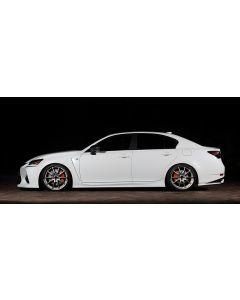 Artisan Spirits Black Label SIDE Spoiler (FRP) - Lexus GS-F (URL10) 2016-