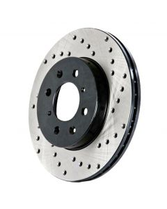 Centric Premium OE Style Drilled Front Brake Rotor for Lexus IS F 2008-2014 - 128.44164