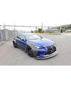 NOVEL Racing Japan Full Fiberglass Widebody Kit for Lexus RC F