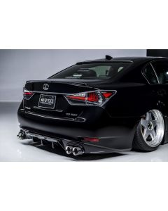 AIMGAIN REAR DIFFUSER for LEXUS GS350 13 UP / Quad opening. FRP unpainted. PRE ORDER ONLY