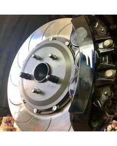 PROJECT MU SCR-PRO PLUS 2 PC FLOATING FRONT ROTORS FOR LEXUS RC-F, GS-F - special order only