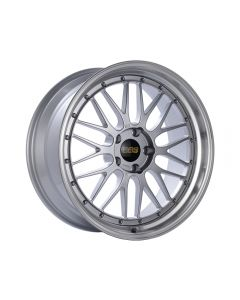 BBS LM Wheel 20x10.5 5x114.3 35mm Diamond Silver | Diamond Cut Rim
