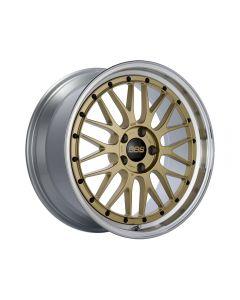 BBS LM Wheel 20x9 5x114.3 28mm Gold | Diamond Cut Rim