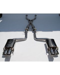 Invidia Q300 Quad Tipped Catback Exhaust System with Stainless Steel Tips for Lexus RC-F 2015+ - IHS14LRF3SH