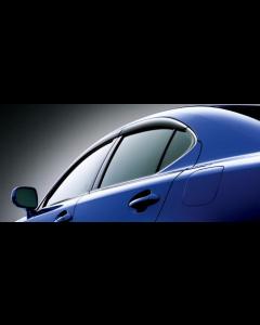 Lexus JDM OEM Window Visors for Lexus IS250/350 2006-2013 and IS F Models 2008 - 2015 - OE-LXS-08611-53050