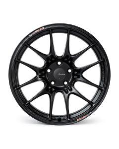 ENKEI Wheels Japan GTC-02 18X9 +25 5X112. 66.5 bore for Toyota Supra A90 in Black