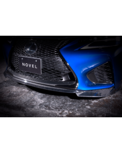 NOVEL Racing Japan Fiberglass Front Lip Spoiler for Lexus GS F (FRP)