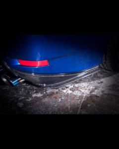 NOVEL Racing Japan Fiberglass Rear Under Spoiler for Lexus GS-F (FRP)