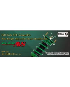 TEIN COILOVERS FLEX AVS . Compatible with your AVS systems. LEXUS GS350 GRL10L0 2014 up