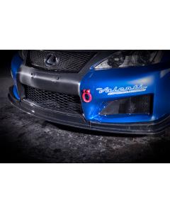 NOVEL Racing Japan Fiberglass Front Lip Diffuser for Lexus IS F (FRP)