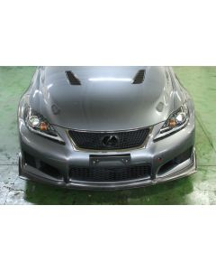 LEMS JAPAN AERO HOOD WITH VENTS, CARBON FOR LEXUS IS-F