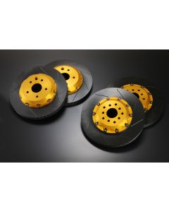 NOVEL Racing Japan 2 Piece Brake Rotors for Lexus RC F / GS F (Front and Rear Set 4 Pieces)