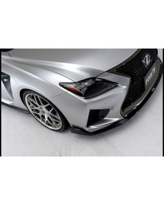 TOMS Carbon Sheet Lower Front Headlight Cover for Lexus RC F 2015 - TMS-08231-TUC-01