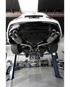 PTS - Joe Z Series Catback Exhaust for Lexus RC F 2015+