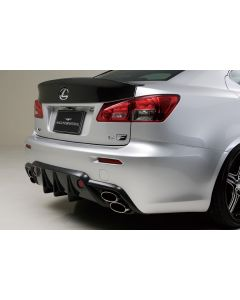 WALD Black Bison  Rear Diffuser for IS F (2008 - 2011)